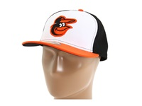 New Era Authentic Collection 59Fifty Baltimore Orioles Alternate Baseball Caps Black