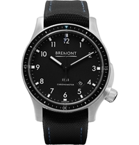 Bremont Model 1 Bk Ss Automatic Chronometer Watch Black