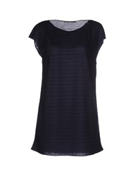 Bp Studio Topwear T Shirts Women Dark Blue