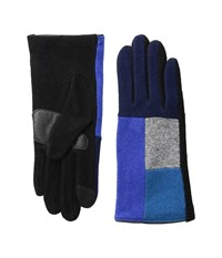 Echo Touch Color Block Gloves Primary Blue Extreme Cold Weather Gloves