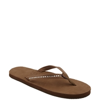 Rainbow '401 Crystal Collection' Sandal Women Dark Brown