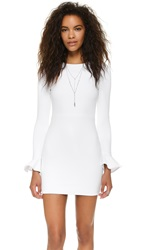 Black Halo Hampton Dress White
