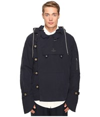 Vivienne Westwood Anglomania Military Parker Jacket Dark Blue