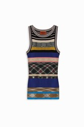 Missoni Multi Stripe Knit Tank