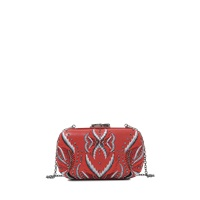 Corto Moltedo Embroidered Susan C Star Clutch