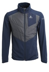 Salomon Park Sports Jacket Big Bluex Asphalt