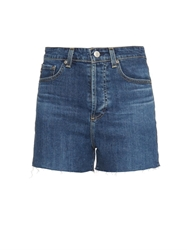 Alexa Chung For Ag The Fifi High Waist Fitted Shorts