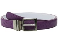 Nike Perforated To Smooth Reversible Bold Berry White Women's Belts Purple
