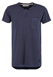 Anerkjendt Marno Basic Tshirt Blue Nights Dark Blue