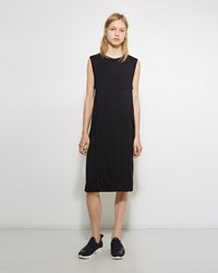 Alexander Wang Layered Pocket Tee Dress Black