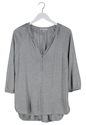 Esprit Tunic Asphalt Grey Melange Mottled Dark Grey