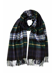 Johnstons Of Elgin Cashmere Stole Green