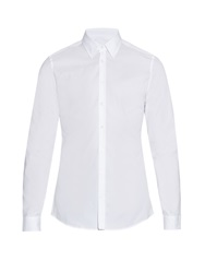 Gucci Slim Fit Pin Dot Cotton Shirt