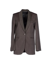 Sonia Rykiel Blazers Dark Brown