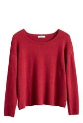 Sandwich Cosy Jumper Red