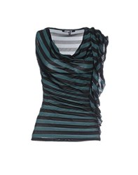Met Topwear Tops Women Deep Jade