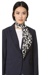 Marc Jacobs Dotted Leopard Scarf Bone Multi