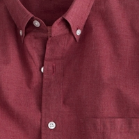 J.Crew Slim Secret Wash Heather Poplin Shirt