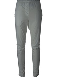 Kristensen Du Nord Stretch Tapered Trousers White