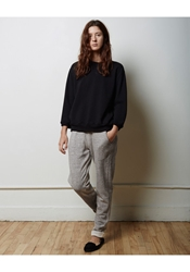La Garconne Moderne Margot Sweatpant Heather Grey