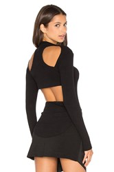 Lna Long Sleeve Element Top Black
