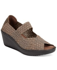 Bare Traps Umma Mary Jane Wedge Sandals Women's Shoes Bronze