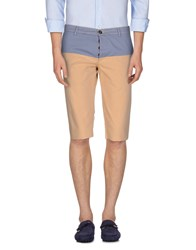 Basicon Trousers Bermuda Shorts Men Sand