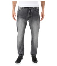 Kenneth Cole Sportswear Experimental Denim Tapered In Grey Wash Grey Wash Men's Jeans Navy