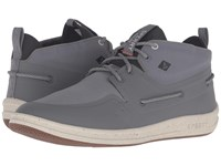 Sperry Gamefish Mukka Smoked Pearl Men's Lace Up Casual Shoes Gray