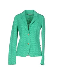 Met And Friends Suits And Jackets Blazers Women Green