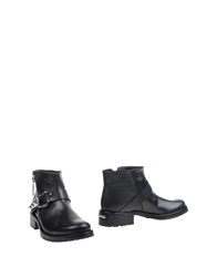 Le Silla Ankle Boots Black