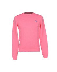 Fred Perry Knitwear Jumpers Men Light Purple
