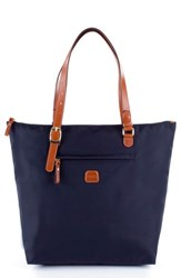 Men's Bric's 'X Bag Large Sportina' Shopper Blue Navy