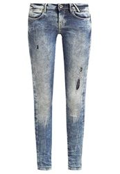 Guess Slim Fit Jeans New Cristalized Bleached Denim