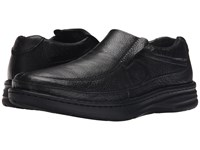 Drew Shoe Bexley Black Calf Men's Slip On Dress Shoes