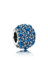 Pandora Design Charm Sterling Silver Glass And Cubic Zirconia Shimmering Moments Collection