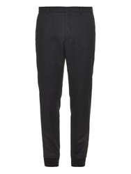 Gucci Elasticated Cuff Wool Blend Trousers