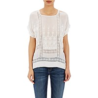 Ulla Johnson Women's Mabel Blouse White