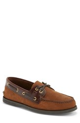 Men's Sperry 'Authentic Original' Boat Shoe Brown Brown Leather
