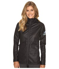 Adidas Climastorm Fleece Jacket Black Utility Black Women's Coat