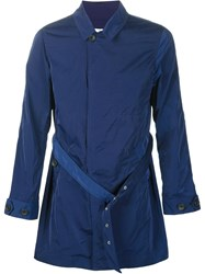 321 Short Trench Coat Blue
