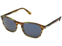 Persol 0Po3148s Striped Brown Yellow Blue