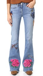 3X1 W25 Bell Embroidery Jeans Emi