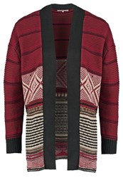 Anna Field Cardigan Burgundy Black Bordeaux