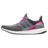 Adidas Ultra Boost Women's Running Shoes Grey Pink
