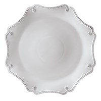 Juliska Berry And Thread Scallop Charger Plate Whitewash