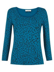 Hobbs Zoey Top Blue Black
