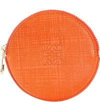 Loewe Cookie Leather Coin Purse Orange