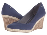 Lifestride Clementine Navy Women's Wedge Shoes