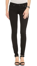 Paige Transcend Verdugo Ultra Skinny Jeans Black Shadow